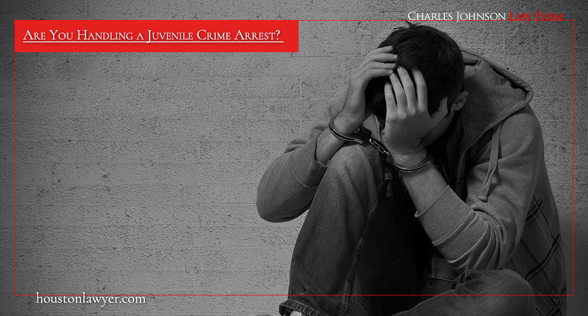 Are You Handling a Juvenile Crime Arrest?  Attorney Charles Johnson Offers Expert Legal Help